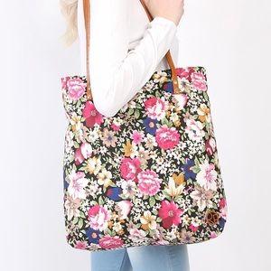 Handbags - Floral tote bag